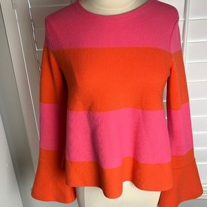 Ann Taylor Sweater with Bell Sleeves Size M